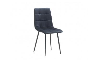 Chaise Velvet noir