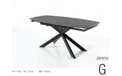 Table Jeremy Force G en céramique allongeable