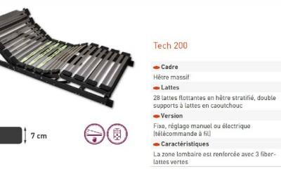 Sommier Tech 200