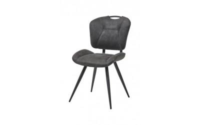 Chaise 1908 microfibres gris