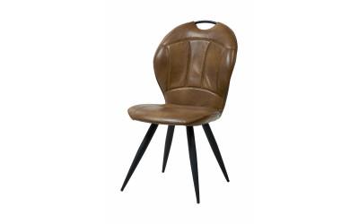 Chaise 1910 PU Cognac