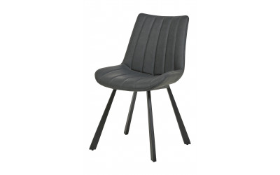 Chaise 1913 PU Anthracite
