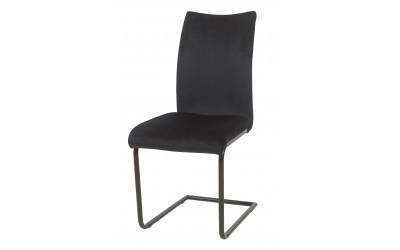 Chaise 2007 Velours Noir