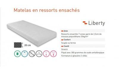 Matelas Liberty 239,00 €