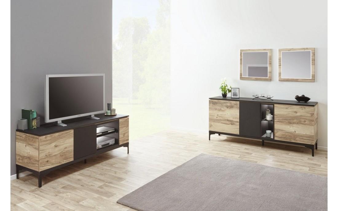 meuble tv feniks promo meubles. Black Bedroom Furniture Sets. Home Design Ideas