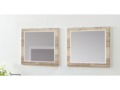 Miroir carré Evan